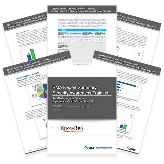Report: Security Awareness Training