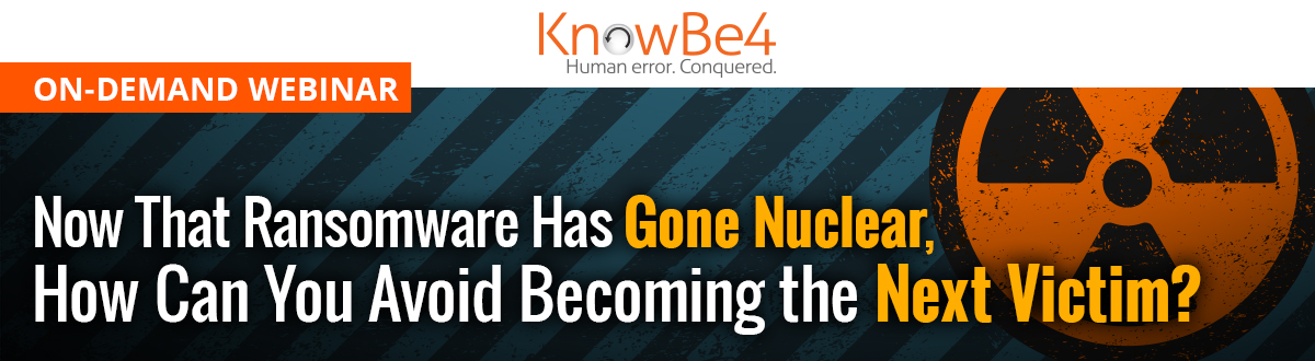 Ransomware Has Gone Nuclear