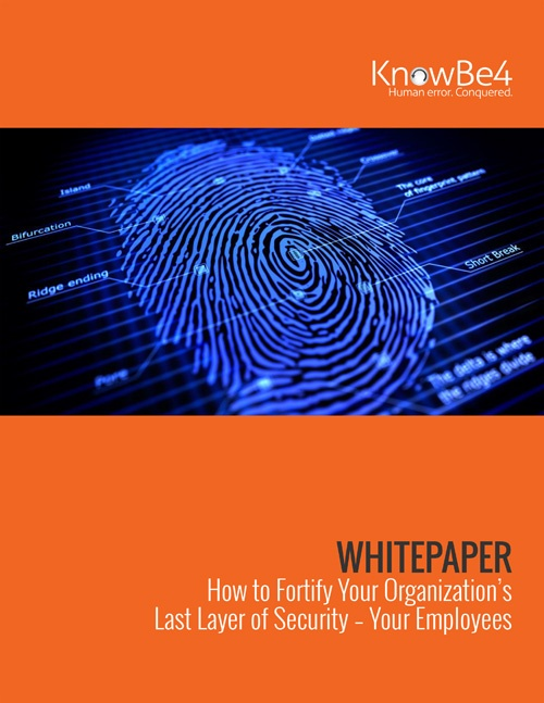 How to Fortify Your Organization's Last Layer of Security Whitepaper