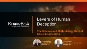 Levers of Human Deception