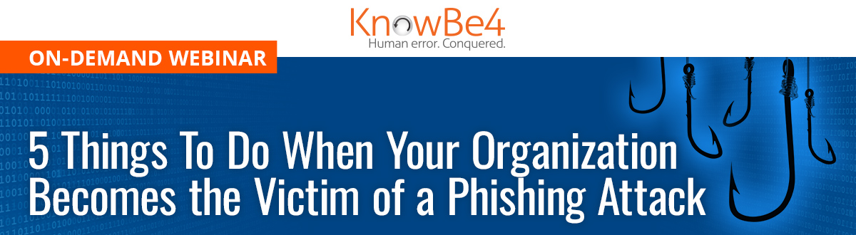 5 Things To Do When You Become the Victim of a Phishing Attack