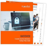 Security-Awareness-Training-Example-Policy-Guide-Fanned
