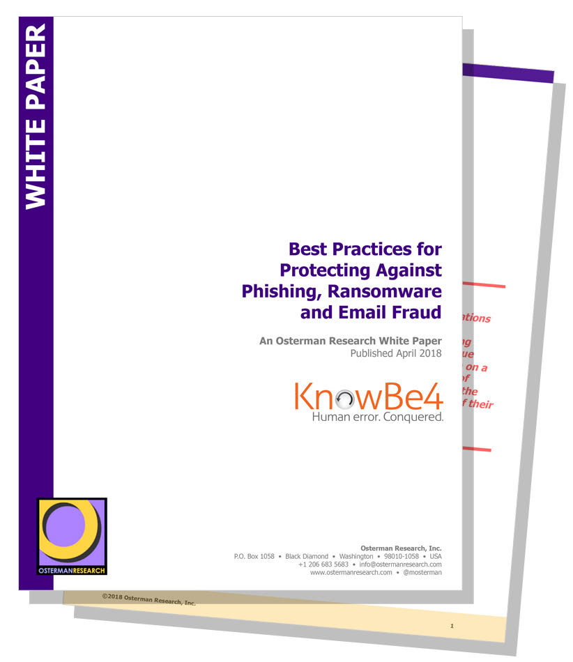 Best Practices Protecting Against Phishing
