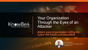 Your Orginization Through the Eyes of an Attacker