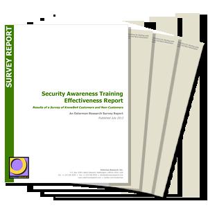 Security Awareness Training Effectiveness Report