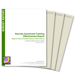 Security Awareness Training Effectiveness Report