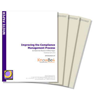 Improving the Compliance Management Process