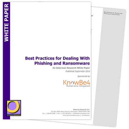 Best Practices for Dealing With Phishing and Ransomware